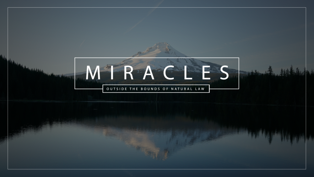 Miracles: Contending