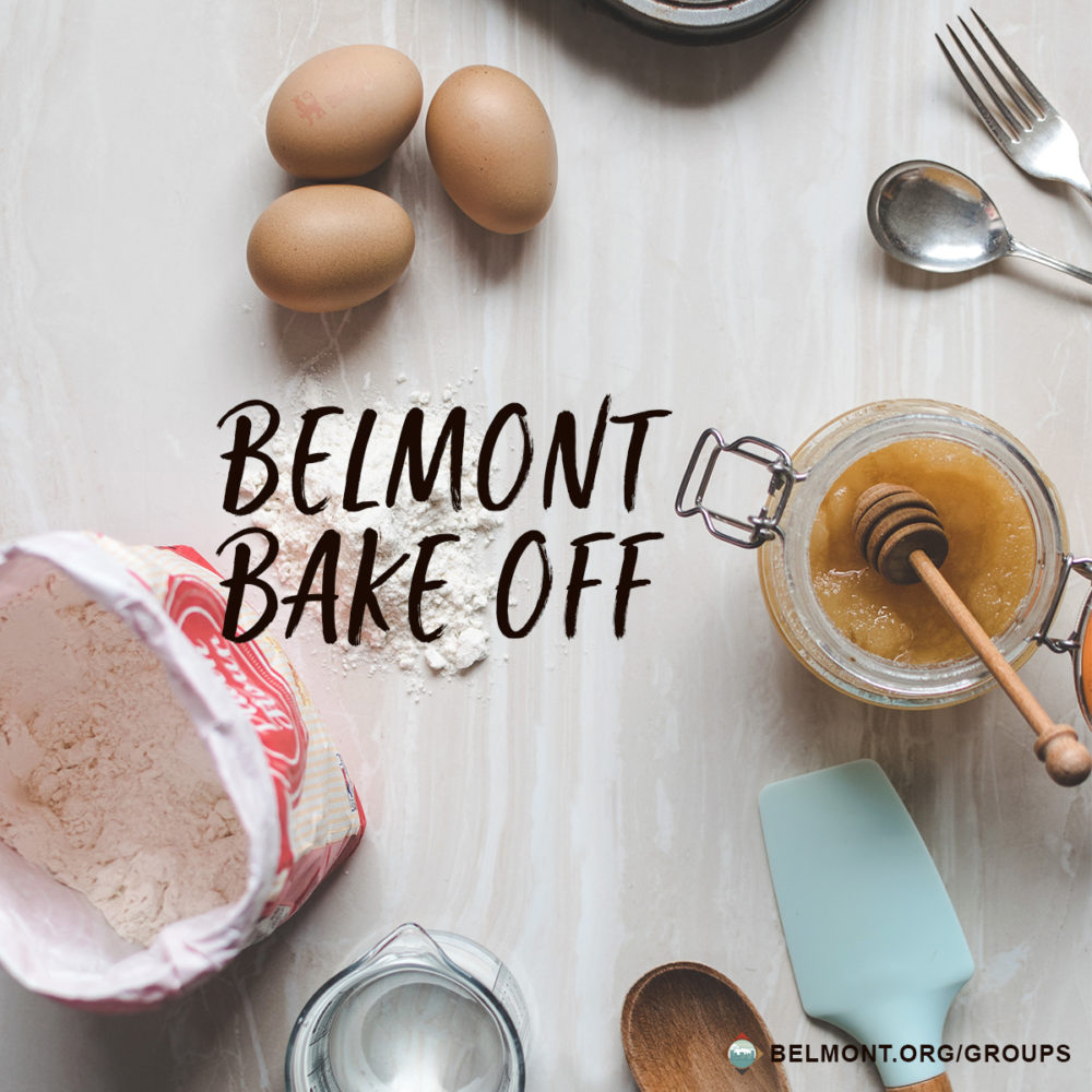 Belmont Bake Off!