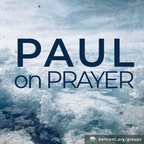 Paul on Prayer