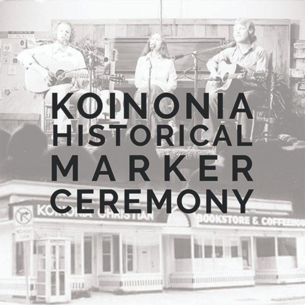 Koinonia Historical Marker Ceremony