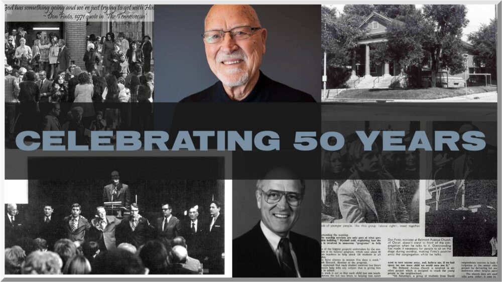 Celebrating 50 Years :: Don Finto :: Living in Victory