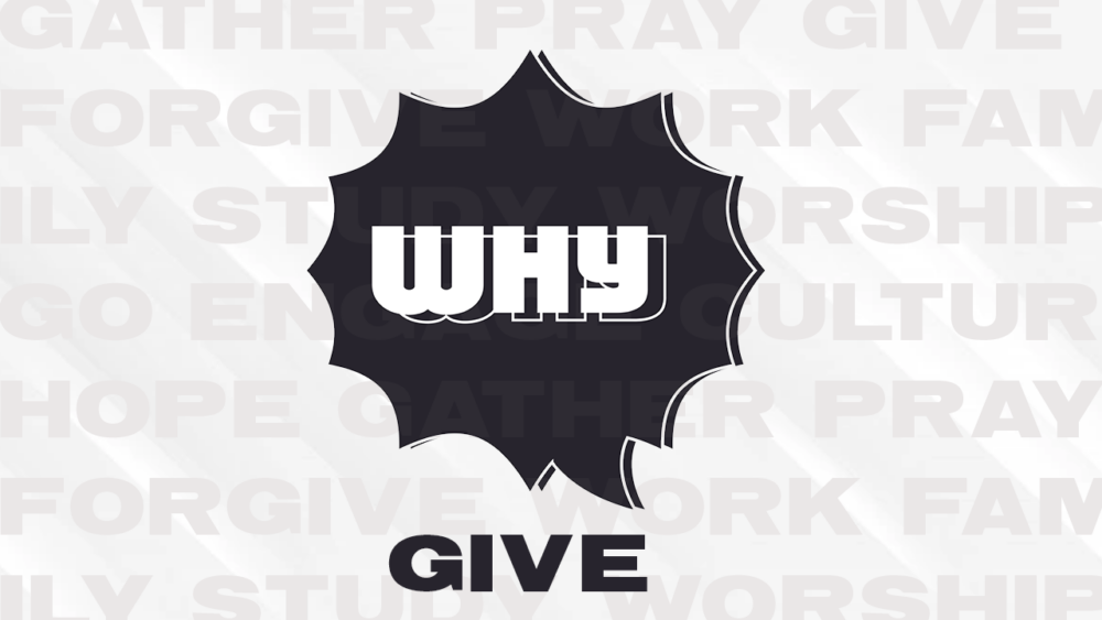 Why Give :: Phil Kendrick
